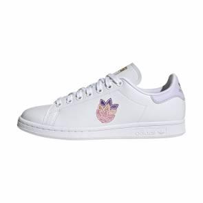 Adidas Stan Smith Blanc / Mauve Femme