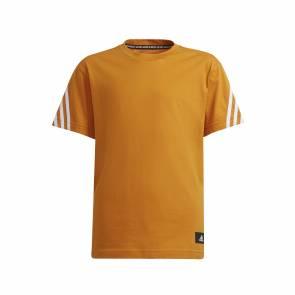 T-shirt Adidas Future Icons 3s Orange Enfant