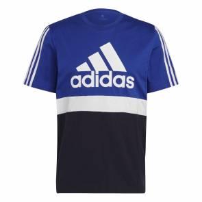 T-shirt Adidas Colorblock Bleu