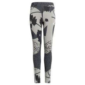 Collants Adidas Future Icons Print Gris Fille
