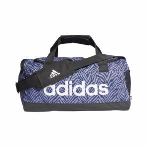 Sac De Sport Adidas Zebra Duf Small Noir / Bleu
