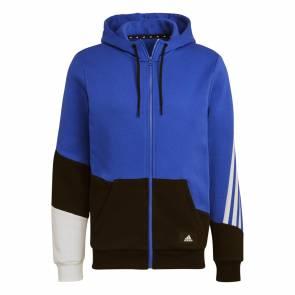 Veste Adidas Colorblock Bleu / Noir