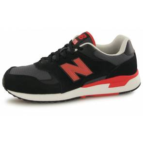 New Balance Ml570 Bnb Noir / Rouge