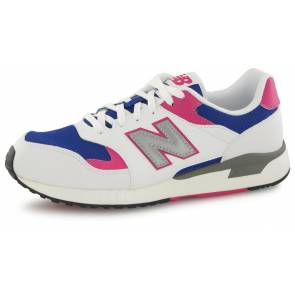 New Balance Ml570 Bnc Blanc / Bleu