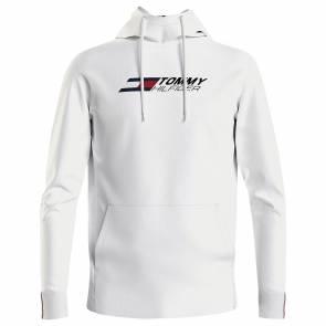 Sweat Tommy Hilfiger Logo Terry Blanc