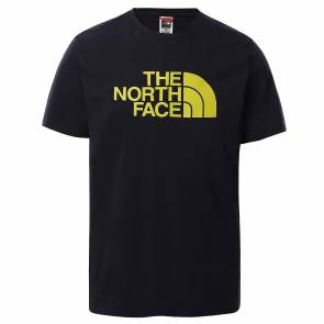 T-shirt The North Face Easy Noir / Jaune