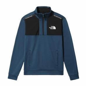 Sweat The North Face Mountain Athletics 1/2 Zip Bleu
