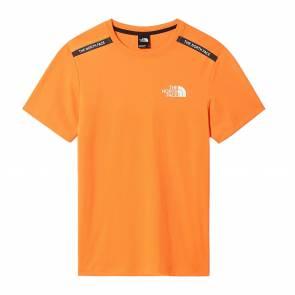 T-shirt The North Face Mountain Ahletics Orange / Noir