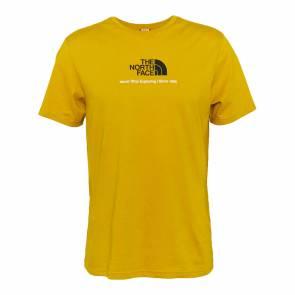 T-shirt The North Face New Climb Jaune