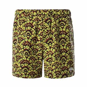 Short The North Face Class V Pull On Jaune Floral