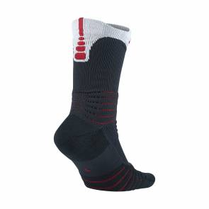 Chaussettes Nike 7 Elite Versatility Osbidian & Red