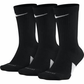 Chaussettes Nike Elite 3 Paires Noir