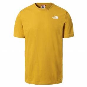 T-shirt The North Face Red Box Jaune