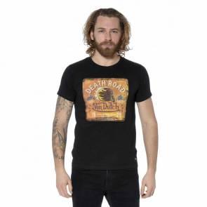 T-shirt Von Dutch Death Road Noir