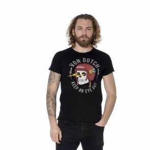 T-shirt Von Dutch Eye Noir